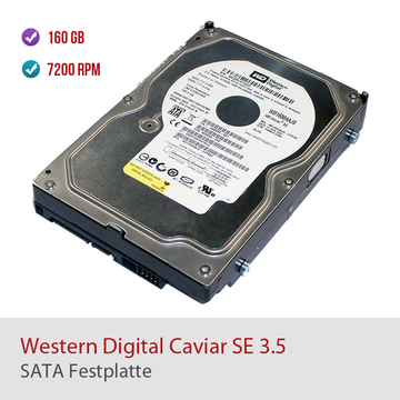160GB Western Digital Caviar SE