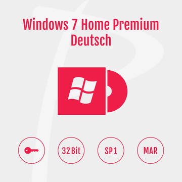 Microsoft Windows 7 Home Premium 32-Bit Refurbished MAR Deutsch