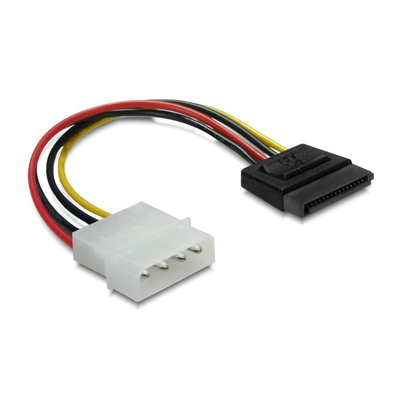 Power SATA Adapter HDD 4Pin male 6cm