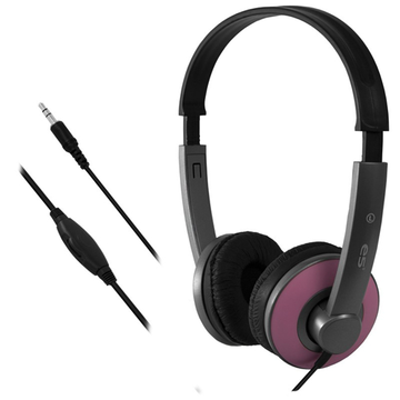 e5 LOOP Stereo Headset, pink