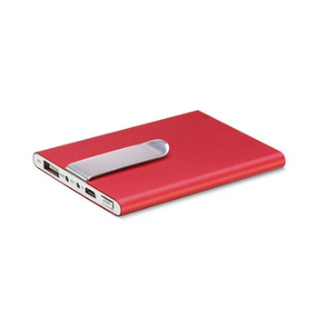 iLogoTech Power Clip 3000mAh PowerBank, red
