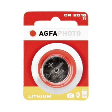 AgfaPhoto CR2016 Lithium Knopfzelle Batterie 3.0V