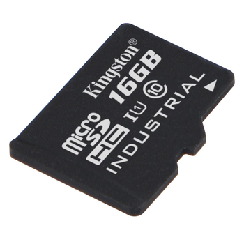 16GB Kingston Industrial microSDHC Speicherkarte Class 10 90MB/s